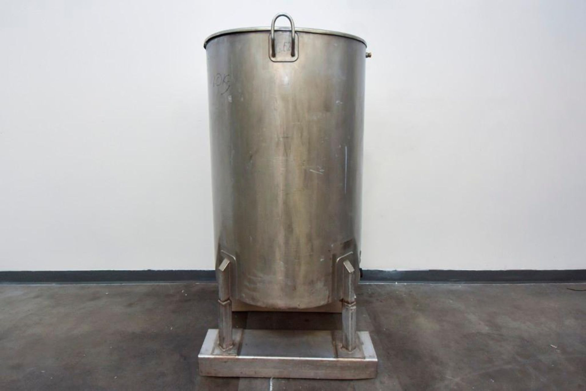 Jacketed Stainless Steel Holding Tank 340L - Image 3 of 13