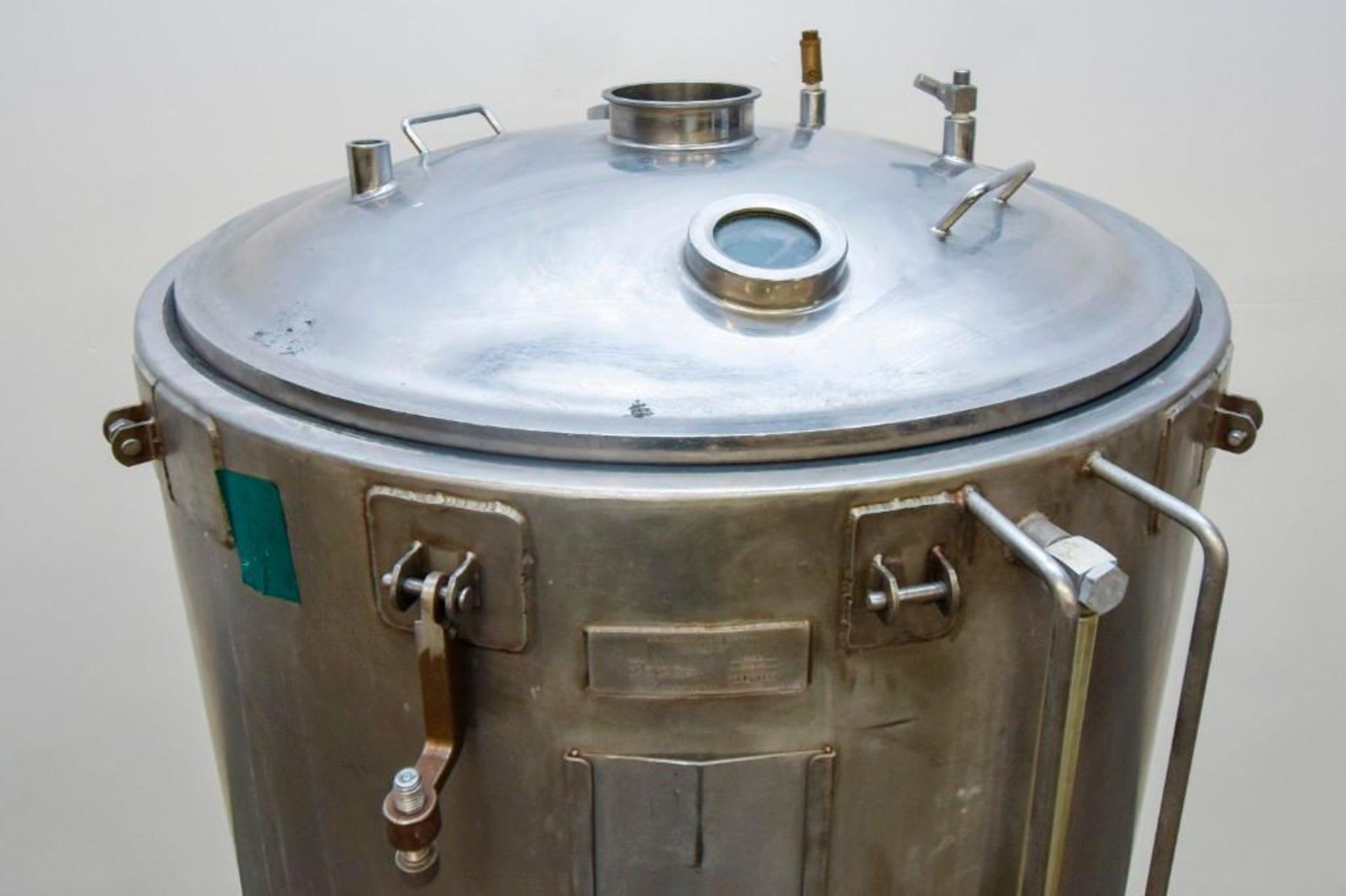 Jacketed Stainless Steel Holding Tank 340L - Image 14 of 18