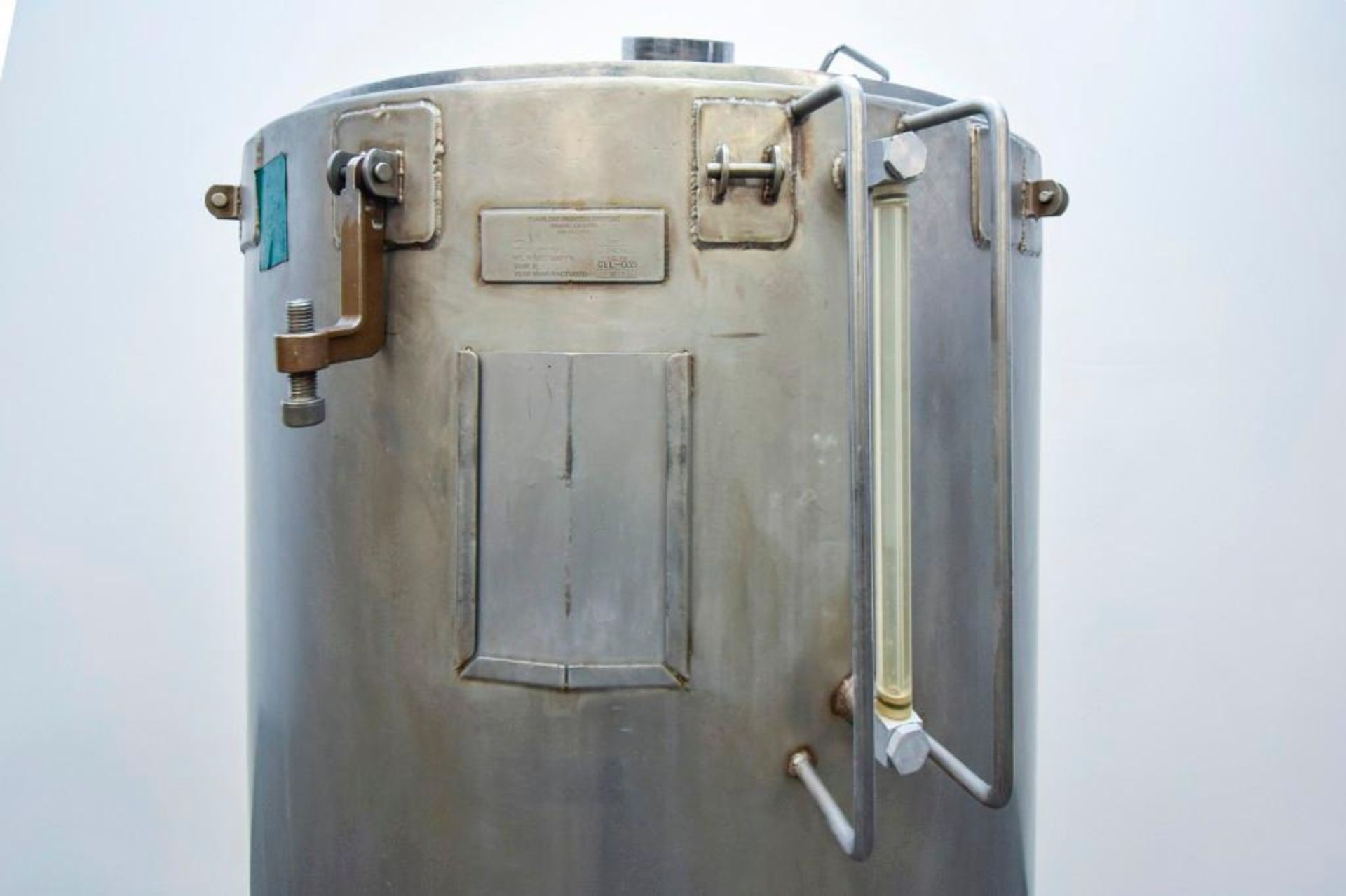 Jacketed Stainless Steel Holding Tank 340L - Image 7 of 18