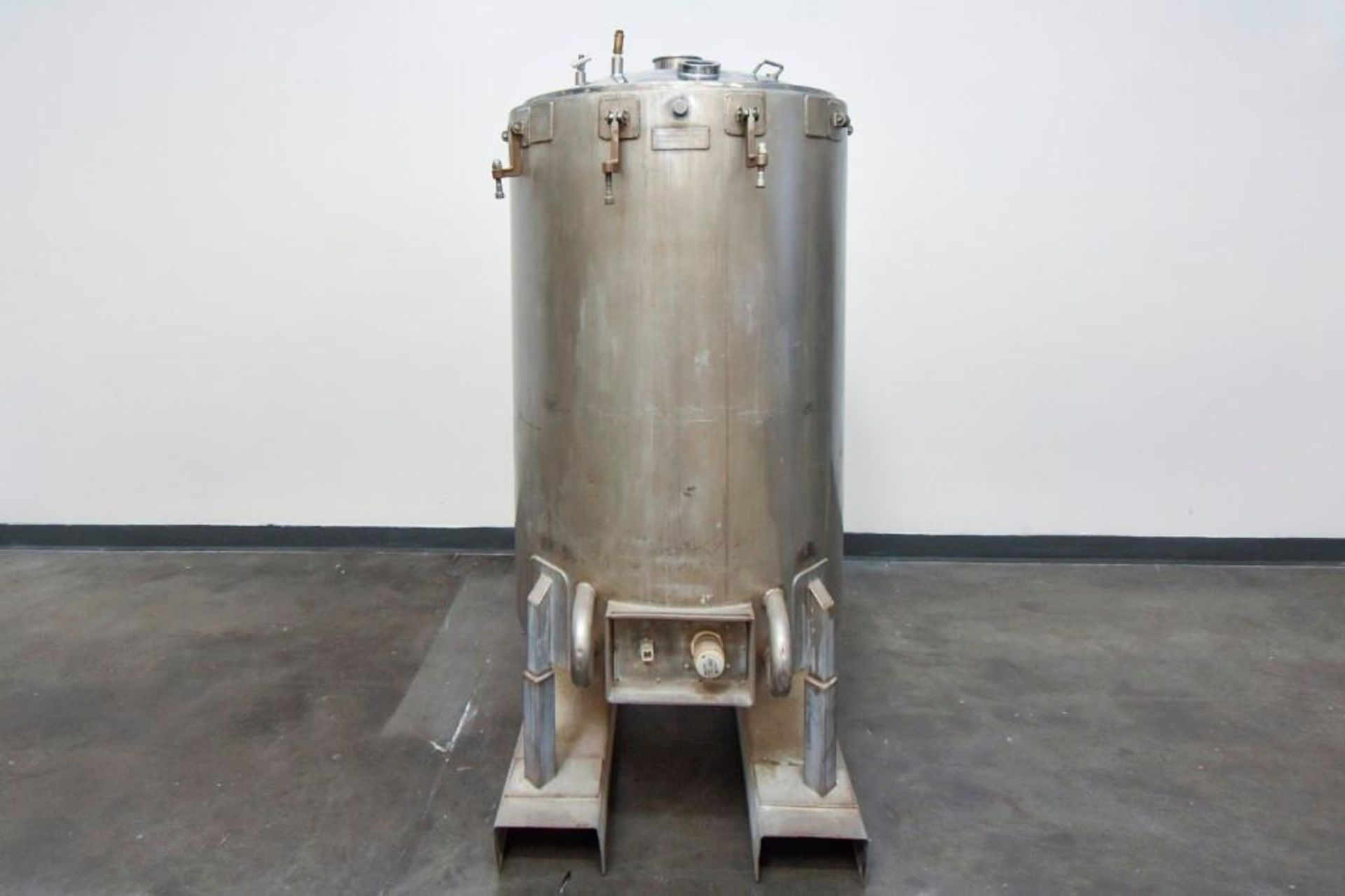 Jacketed Stainless Steel Holding Tank 340L - Image 6 of 18
