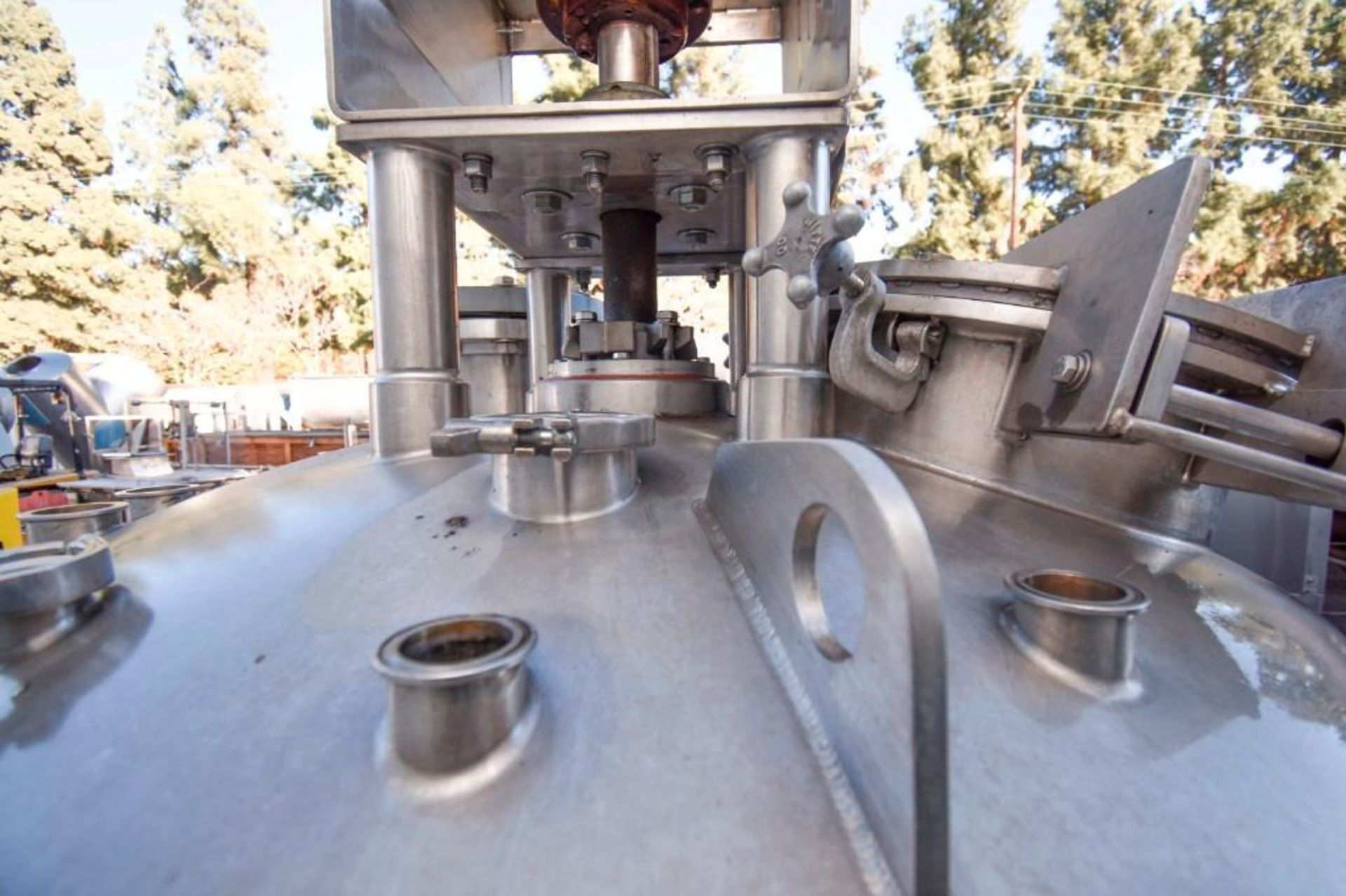 Jacketed Mixing Tank - Image 8 of 21