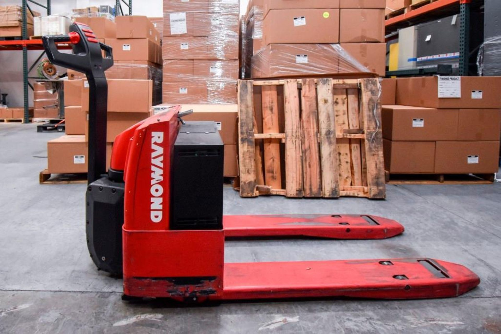 Raymond Electric Pallet Jack - Image 3 of 10