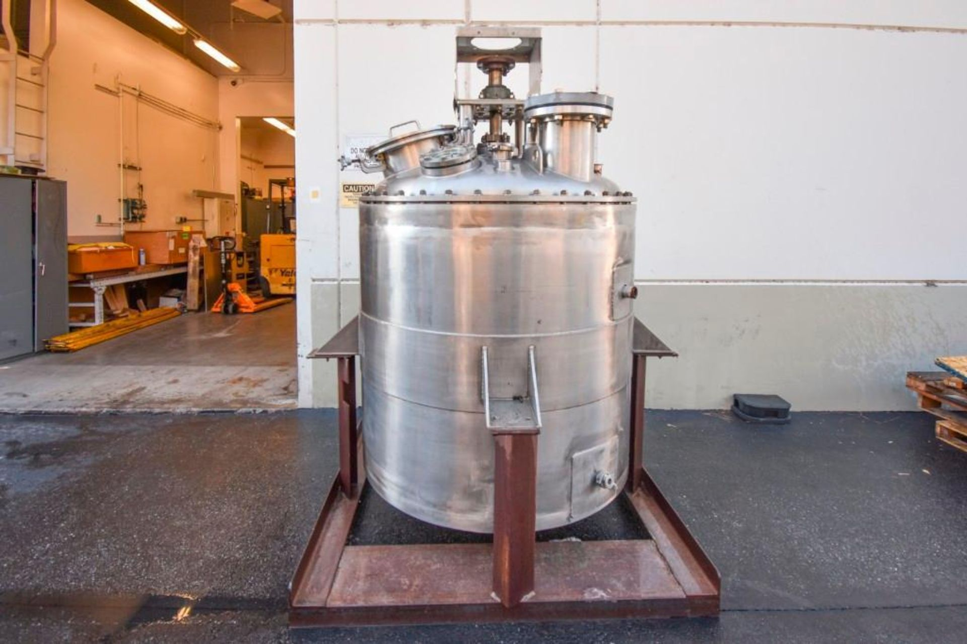 Jacketed Mixing Tank - Image 2 of 21