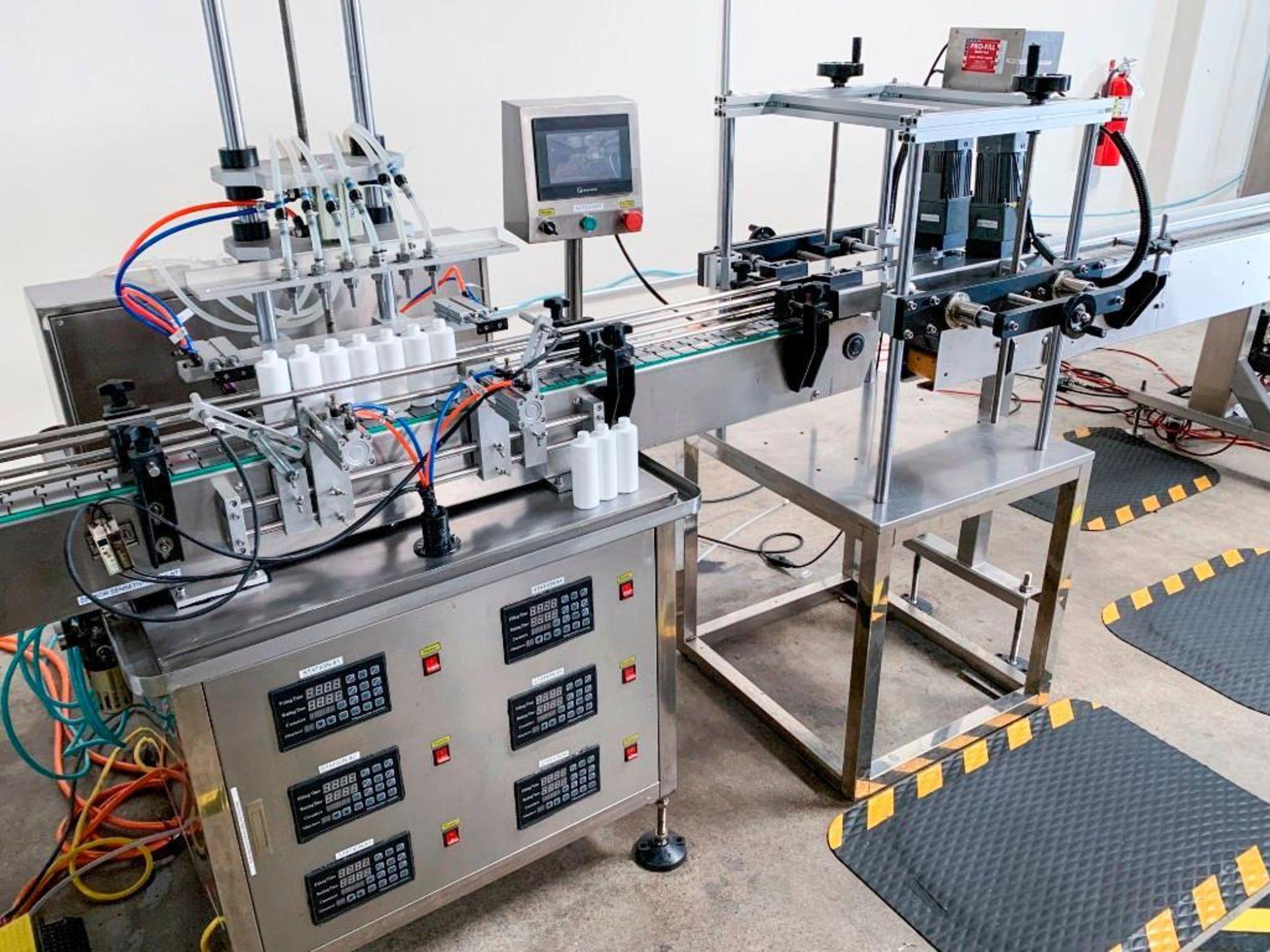 ProFill 6 Head Peristaltic Filling Machine - Image 4 of 7