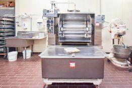 Shaffer Roller Bar Mixer Dough Transfer trough