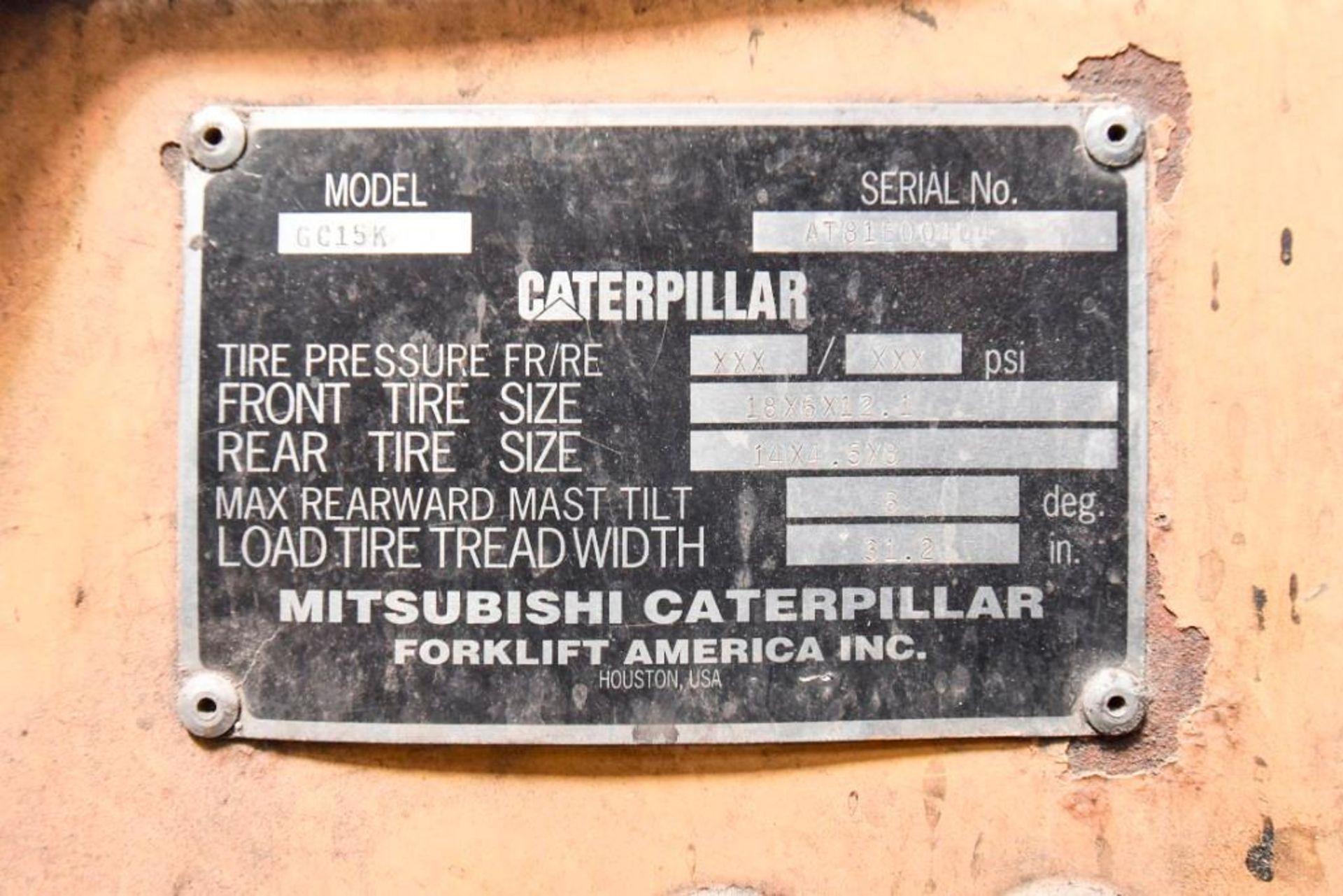 Caterpillar Propane Fork Lift - Image 4 of 4