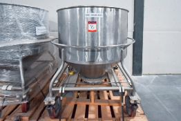 Holding Tank on Casters 250 Gallon