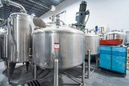 Cherry Burrel Stainless Steel Mixing Tank 200 Gallon