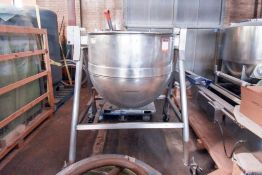 150 Gal Kettle with 2/3 Jacket