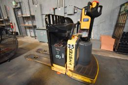 Hyster Walk Behind Pallet Jack and LifePlus Charger