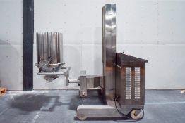 YZ-E4 Telescopic Mixing lift and Tote