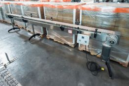 Conveyor with Variable Speed Control 15 ' Length