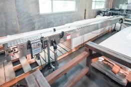 Variable Speed Conveyor with Stainless Steel Belt
