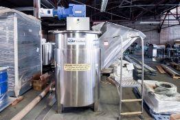 JBT Foodtech Mixing Tank with Servo Driven Blade 350 Gallon