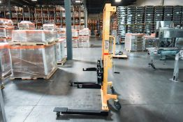 Web Roll Lift Cart