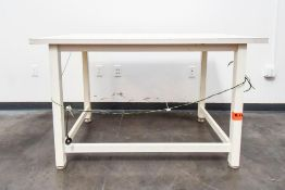 Small White Inspection Table