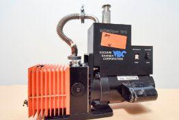 VBC Microtorr 11D Integrated Diffusion Pump System With Alcatel 2004 Vacuum Pump