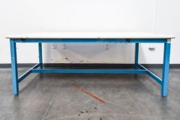 Large White Table Single Deck