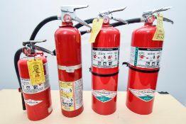 4 Fire Extiguishers