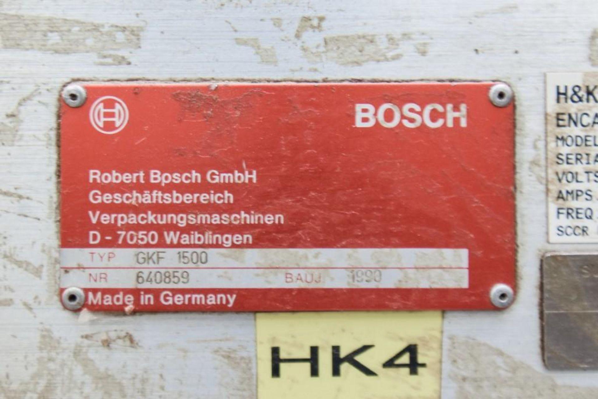 GFK 1500 Bosch Encapsulation Machine - Image 10 of 11