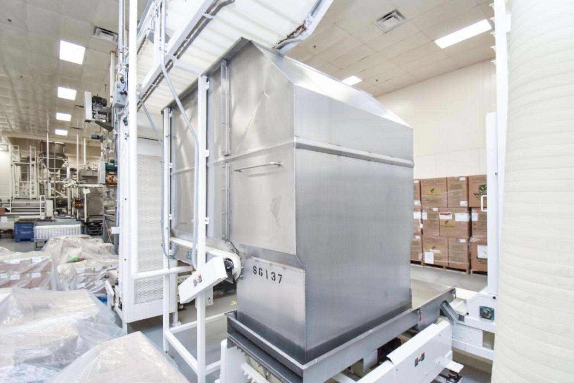 RBM Accumulation Hopper Conveyor and Vibratory Deck AC-1-4X4-6 - Image 5 of 11