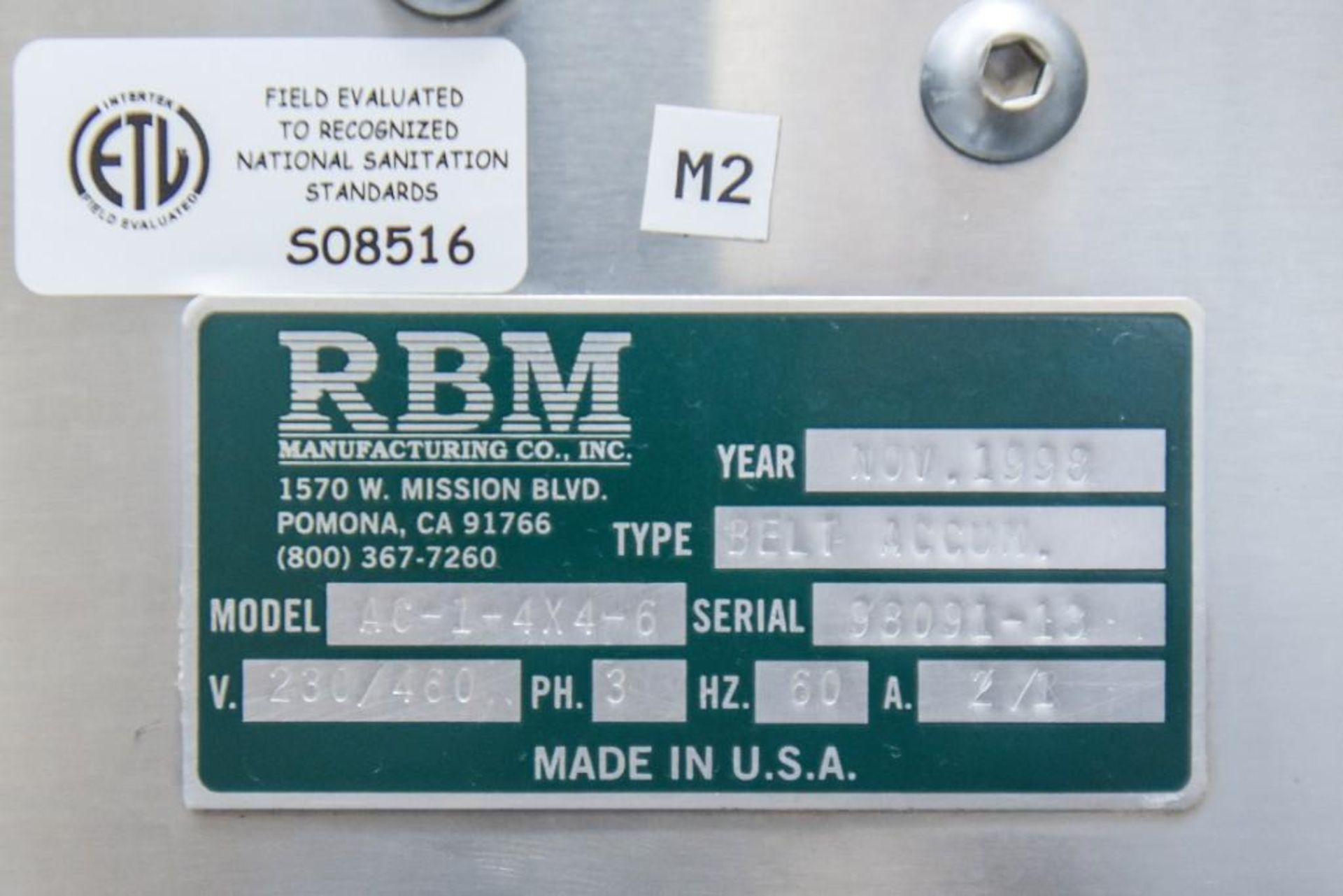 RBM Accumulation Hopper Conveyor and Vibratory Deck AC-1-4X4-6 - Image 11 of 11