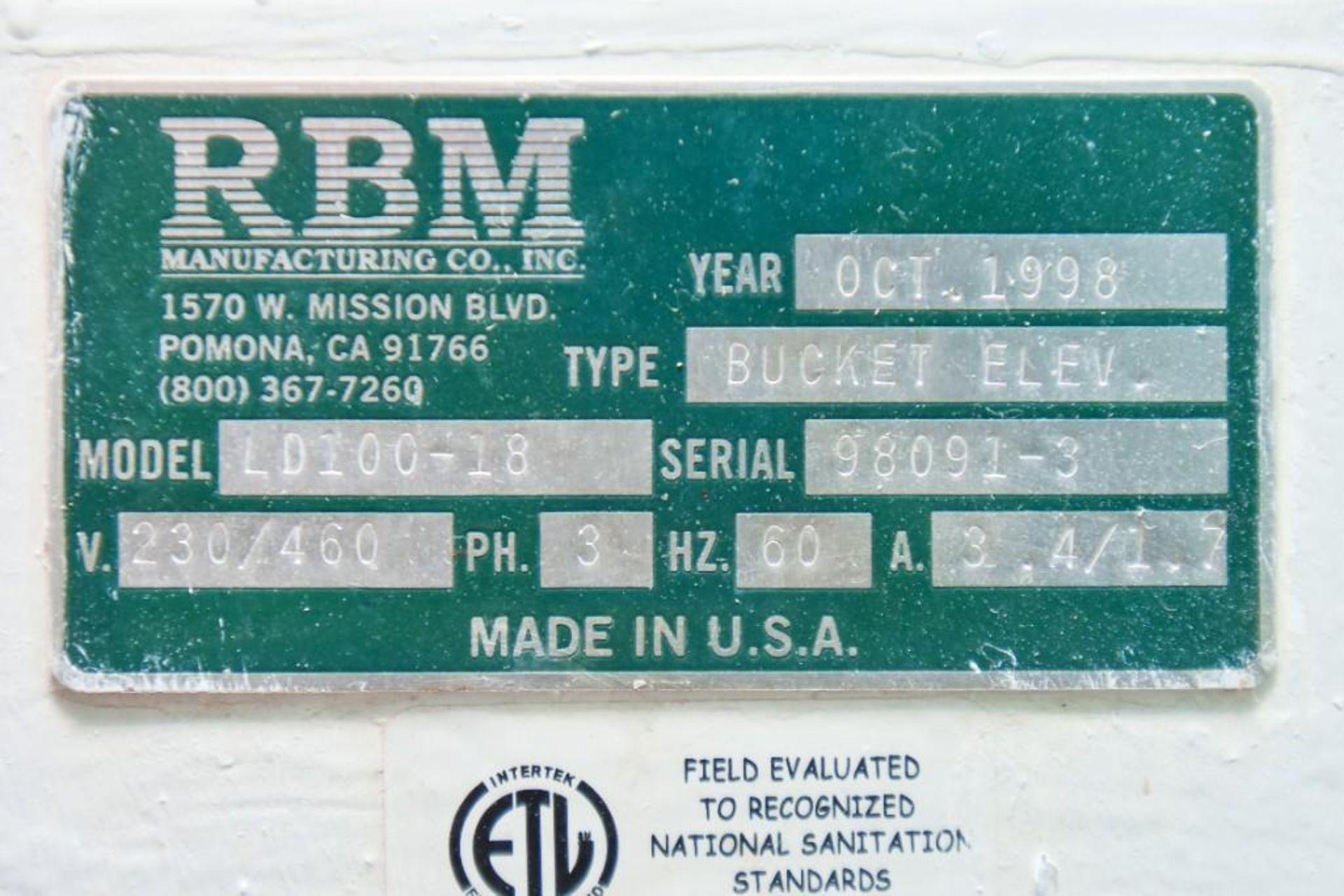 RBM Bucket Elevator LD100-18 - Image 5 of 5