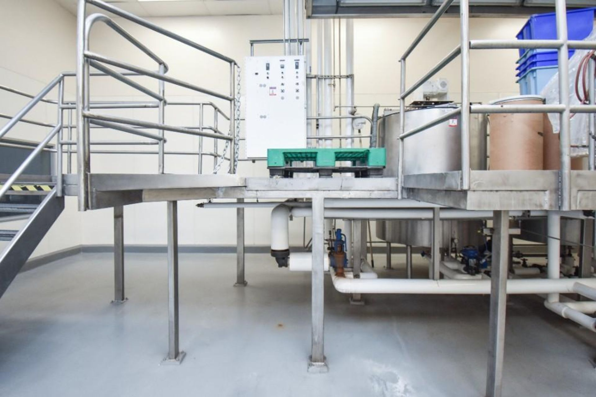 3 Jacketed Liquid Mixing Tank System - Image 4 of 21