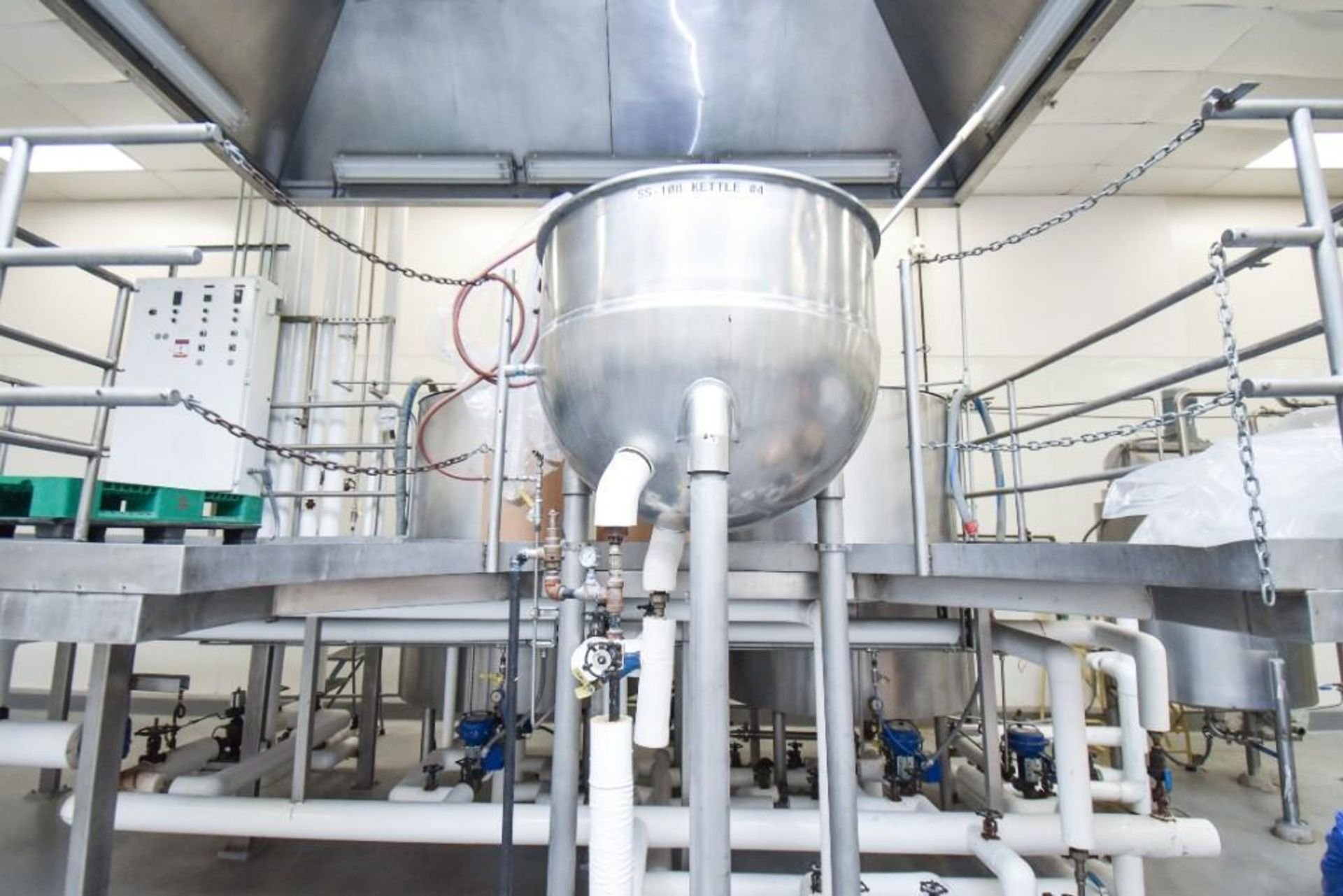 3 Jacketed Liquid Mixing Tank System - Image 3 of 21