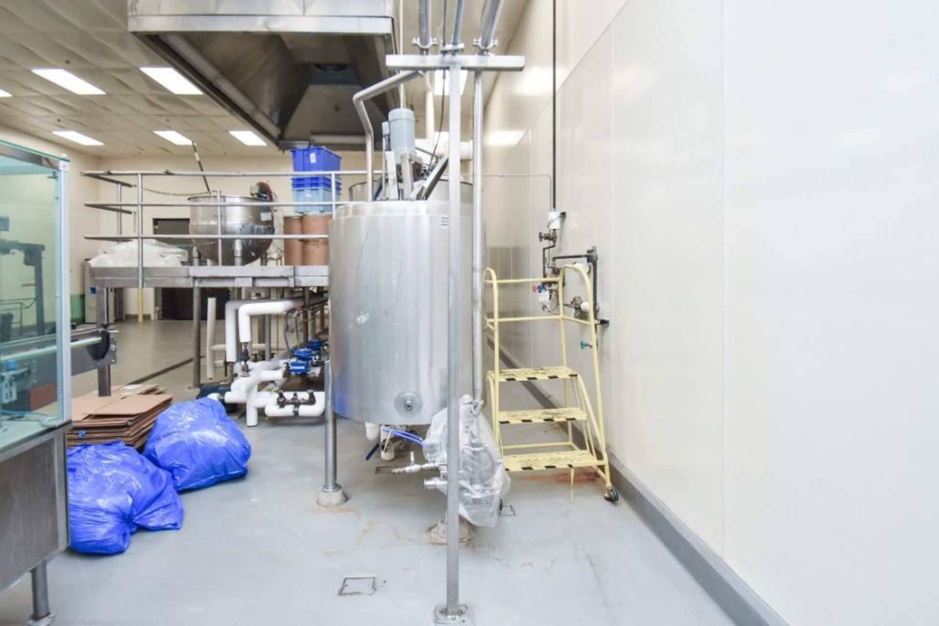 3 Jacketed Liquid Mixing Tank System - Image 19 of 21