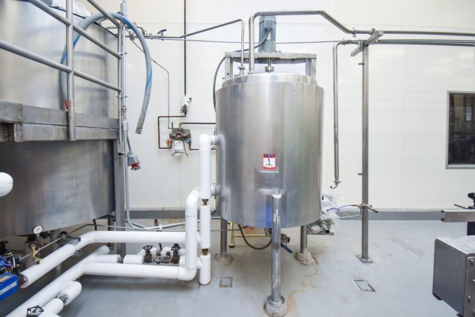 3 Jacketed Liquid Mixing Tank System - Image 16 of 21
