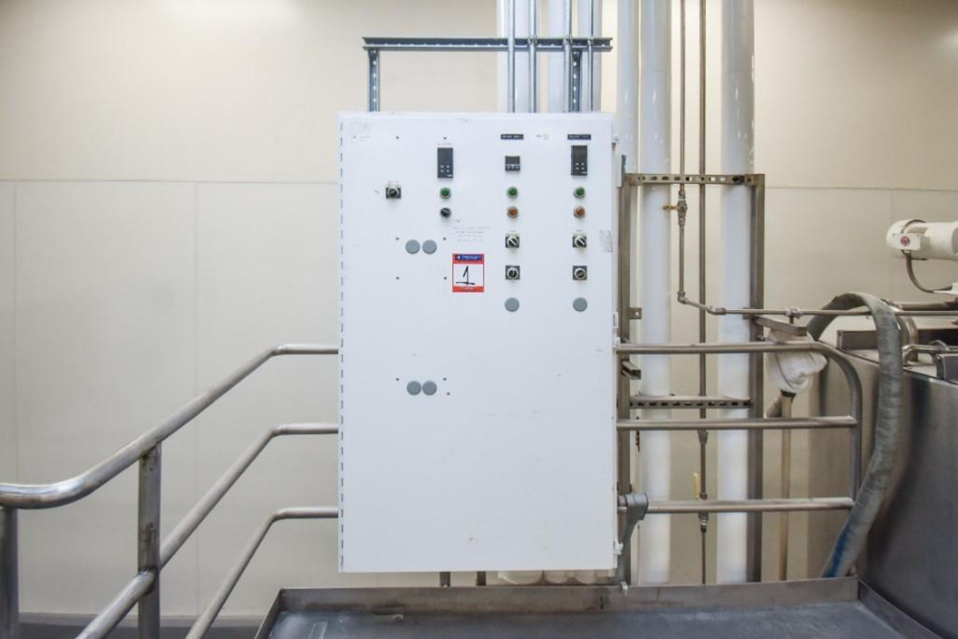 3 Jacketed Liquid Mixing Tank System - Image 5 of 21