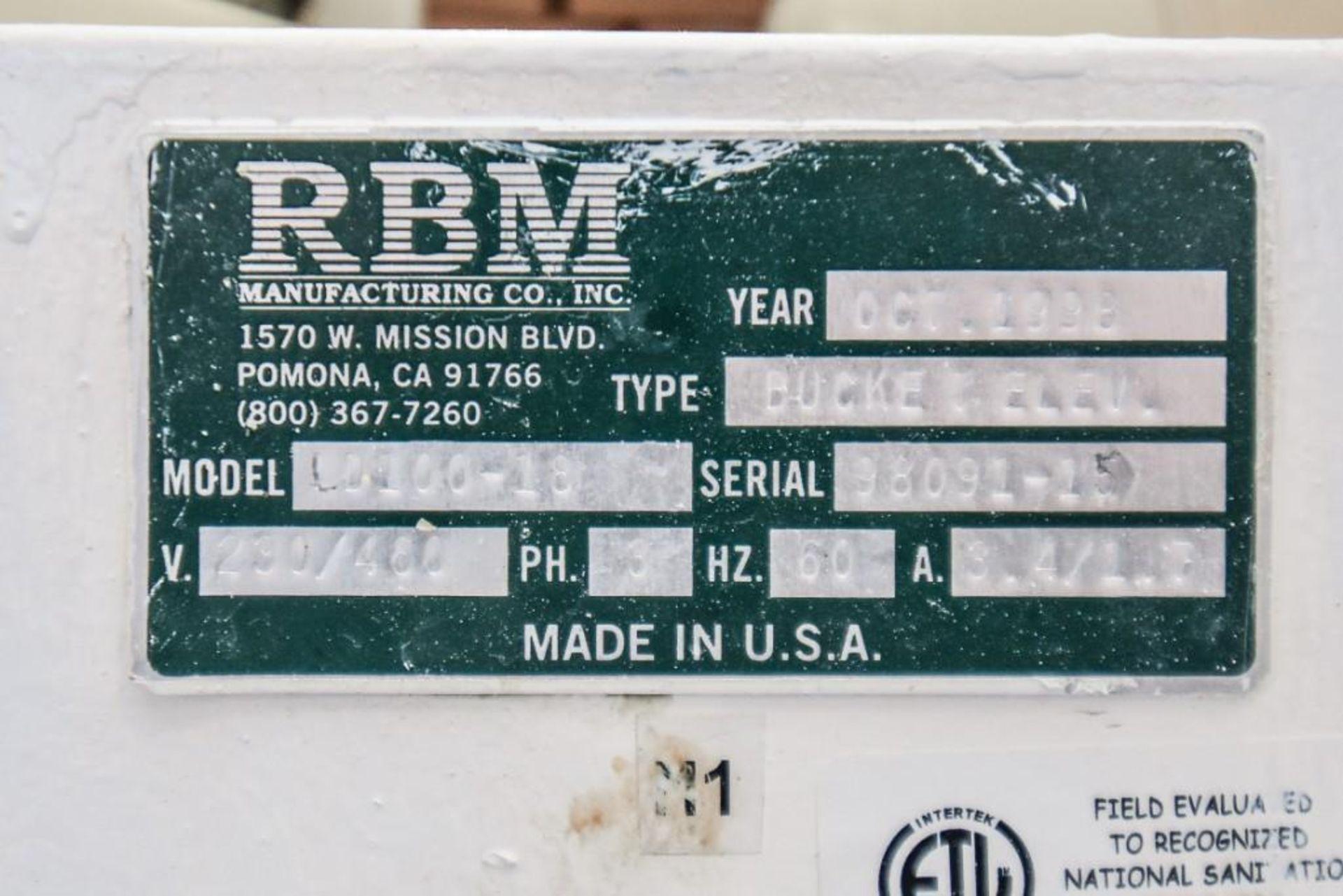 RBM Bucket Elevator LD100-18 - Image 6 of 8