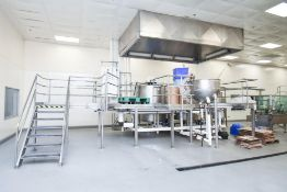 3 Jacketed Liquid Mixing Tank System