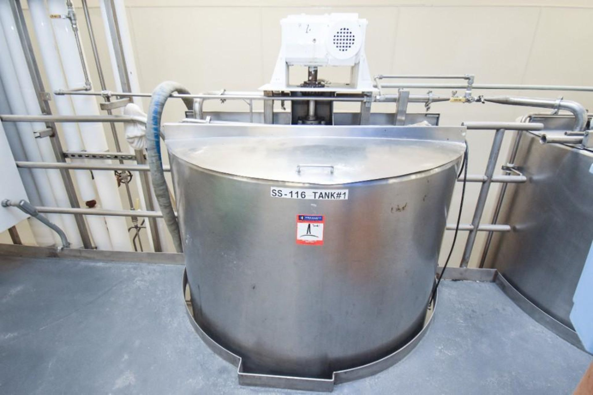 3 Jacketed Liquid Mixing Tank System - Image 6 of 21