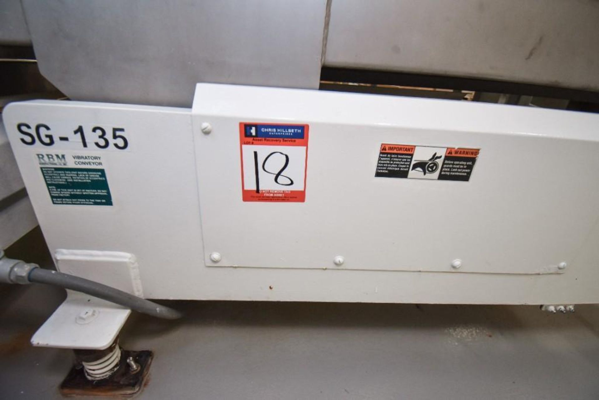 RBM Vibratory Deck VCNF-15X6X7 - Image 2 of 6