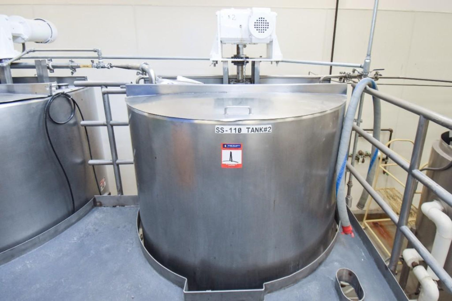 3 Jacketed Liquid Mixing Tank System - Image 12 of 21