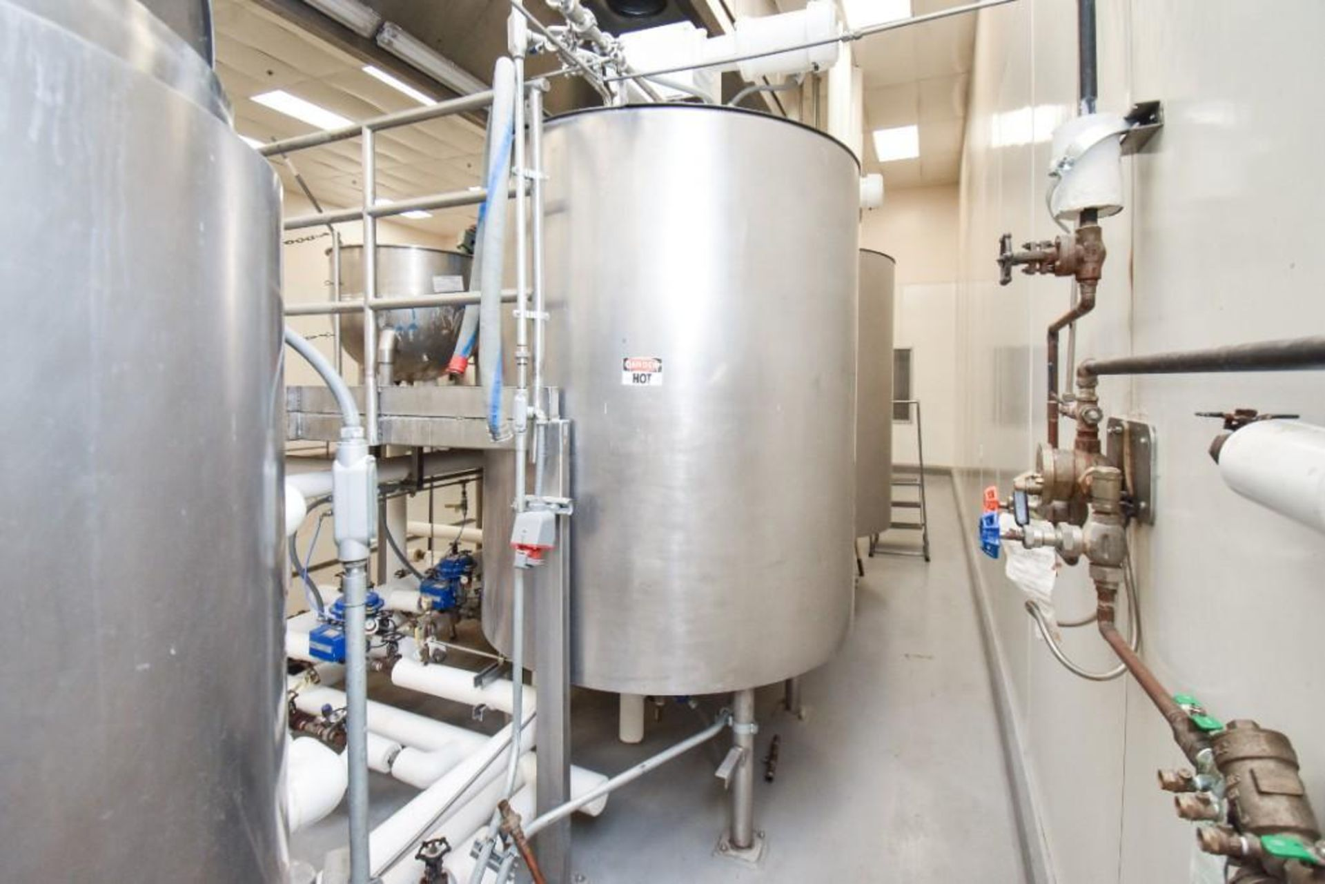 3 Jacketed Liquid Mixing Tank System - Image 20 of 21