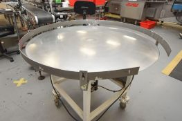 Accumulation Table with Dayton Variable Speed Control 42'' Diameter