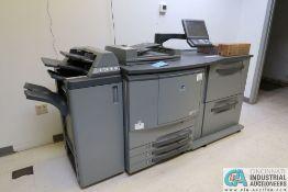 MINOLTA C6500 BIZHUB PRO DIGITAL PRESS; S/N A03U010003833, WITH HT-504 DEHUMIDIFIER, PF-601 PAPER