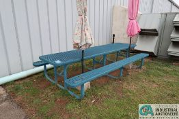 10' STEEL PICNIC TABLE