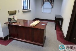 SECRETARY DESK AND TABLE