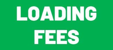LOADING FEES - ALL BUYERS REQUIRED TO PAY LOADING FEES AS LISTED IN THE LOT DESCRIPTION