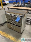 """18"""" X 28"""" MAPLE TOP PORTABLE TOOLBOX"""