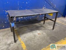 """31"""" X 80"""" H.D. STEEL TABLE"""