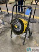 FOSTORIA HEATWAVE 15 ELECTRIC HEATER FAN; 480-VOLT