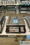 15 LB. RICE LAKE MODEL RL-1013 6200 IQ DIGITAL COUNTING SCALE