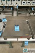 "100 KG OHAUS CHAMP SCALE PLATFORM, 18"" X 18"""