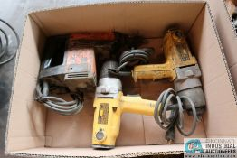"""(LOT) RAMSET DYNADRILL AND (2) 3/4"""" DEWALT IMPACT WRENCHES"""