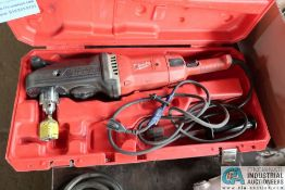 """1/2"""" MILWAUKEE SUPER HAWG RIGHT ANGLE DRILL"""